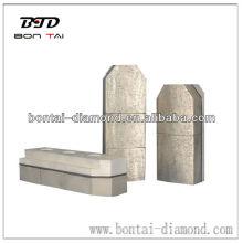 Mental diamond fickert for marble and granite grinding