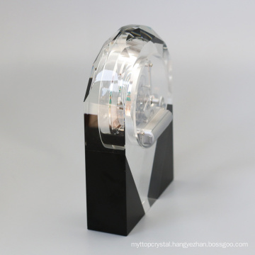 Crystal Table Clock