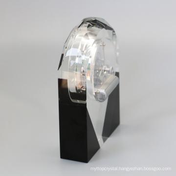 Crystal Table Clock