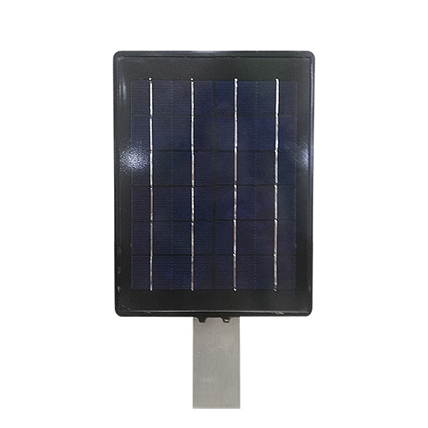 The front of solar street light