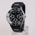 gear case vintage watch sport, japan movement quartz watch sr626sw battery