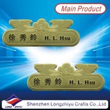 Benutzerdefinierte Gold Namensschilder für Personal, Personal Name Badges