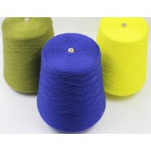 Acumulação de lã de acrílico misturada com lã de calor