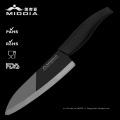 """6.7"""" miroir lame Damas en céramique couteau, couteaux de Chef"""