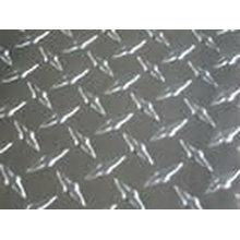 A5754 A5083 H111 aluminum embossed sheet for trailer truck