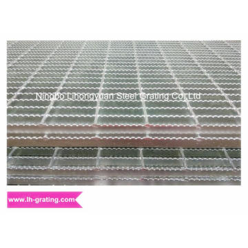 Galvanizing Steel Bar Grating with Serrated Type
