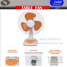 Nuevo ventilador de la tabla del viento fuerte con el tamaño 16inch