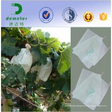 Resistencia a los rayos UV a prueba de agua Buena transpirabilidad Bolsa de cultivo de papel para la plantación de frutas Best Selling South America, Southeast Asia