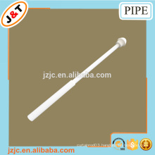 retractable metal iron shower curtain pipe