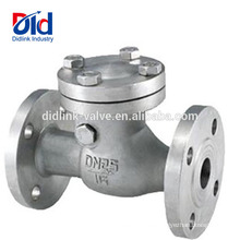 Rückstau 3 4 Federrücklauf-Zoll für Wasserleitungswafer Din3202 F6 Pendeltyp-Rückschlagventil Standard