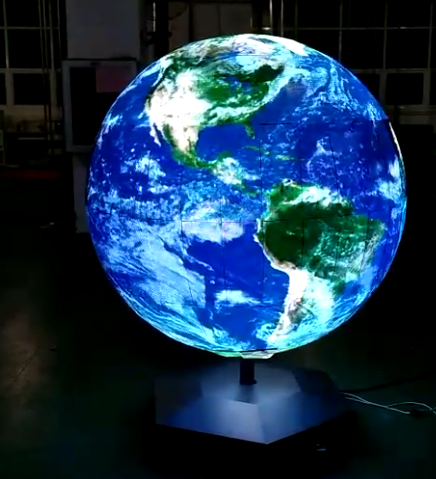 Full-color Spherical Screen