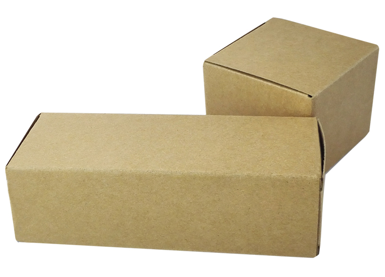 Custom Made High Quality Small Kraft Brown Paper Boxes