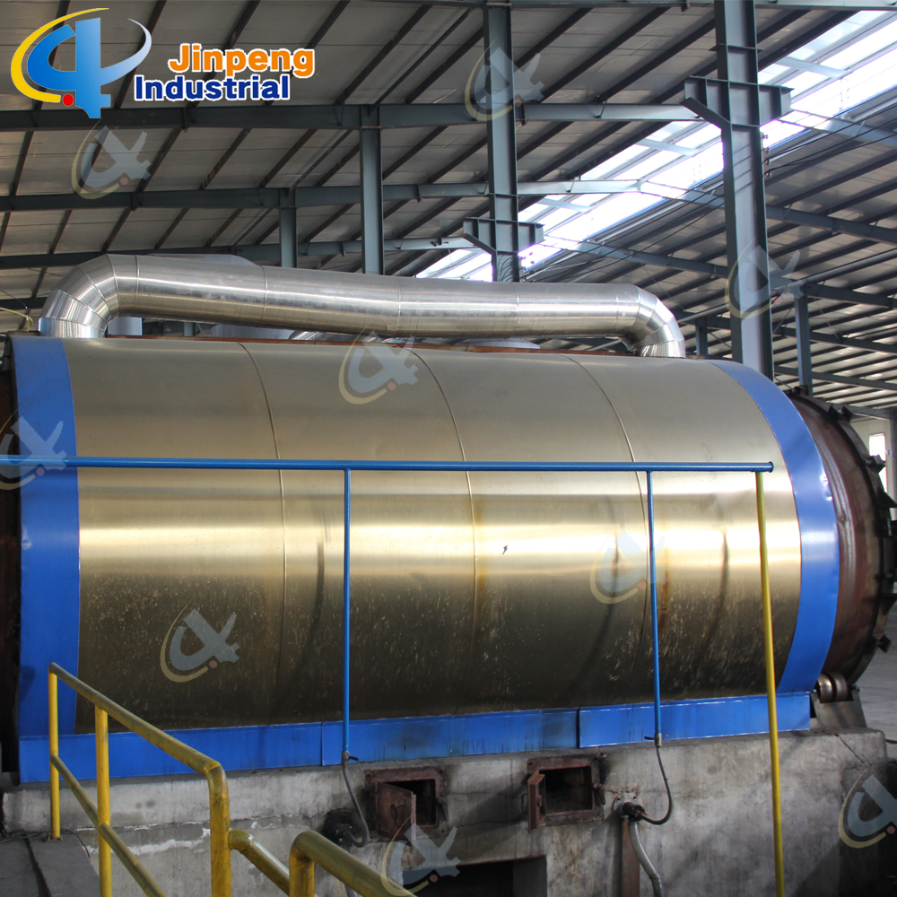 batch waste tyre pyrolysis plant
