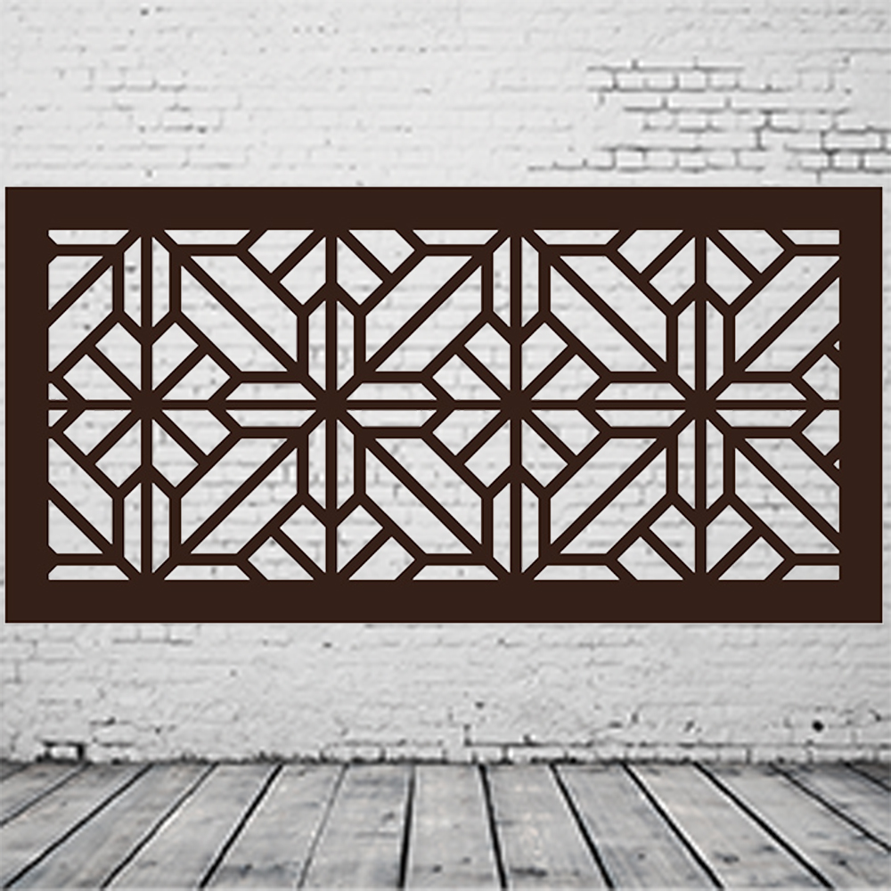 Metal Art Railing Panels
