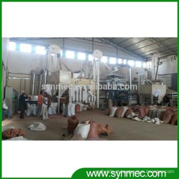 planta de limpeza de sementes de gergelim para a Nigéria