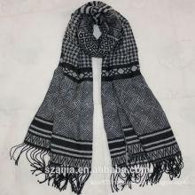 Fashion new ladies acrylic plaid pashmina/shawl scarf