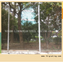 Chaud plongé en acier galvanisé, grille de clôture pour la sécurité