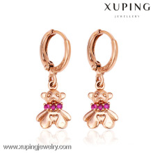 26891- Xuping Young Lady Jewelery Brincos Urso Adorável