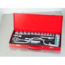 """1/2""""Dr 24PCS Tool Kit Socket Set"""