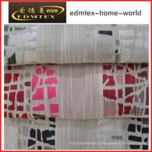 Poliéster tecido sofá jacquard EDM1032