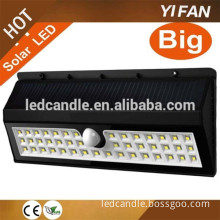 44 LED IP65 Protection Level and Energy Saving Light Type Outdoor Garden Solar LED With Wall