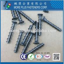 Fabriqué en Taiwan Carbon Steel C1022 Lobe T 20 Pan Head Caseharden Plain Avec 2/3 Tête Thread Trilobular Screw