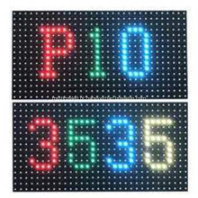 Módulo de painel de exibição de matriz de LED para exterior P10