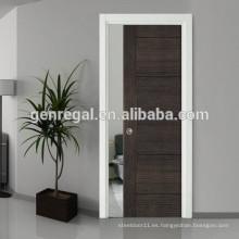 Fabricante moderno Interior puertas correderas de madera