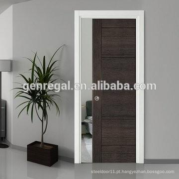 Portas deslizantes de madeira do interior moderno do fabricante