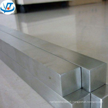 SUS201 202 304 acier inoxydable tige carrée 38x38mm avec surface polie