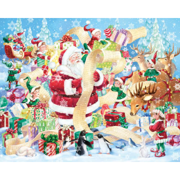 RTS 1000pcs paper jigsaw puzzle for adults stock