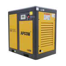 APCOM 2021 hot sale  15 KW 20HP yellow color  rotary screw air-compressors