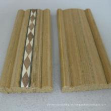 tiras de incrustaciones de madera artificial moldeado