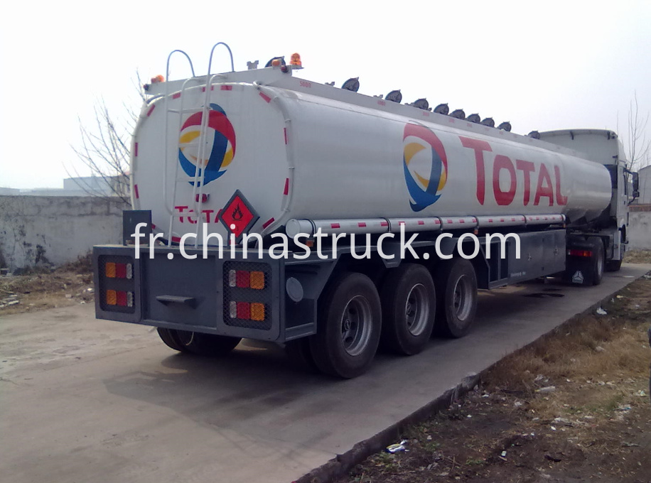 ADR oil tank semi-trailer design for TOTAL