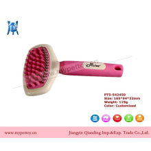 Pink Grooming Brush Dog Cleaning Tool