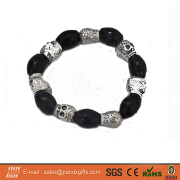 Cheap Metal Skull Bracelet/Bangle For Halloween Holiday&Party Event