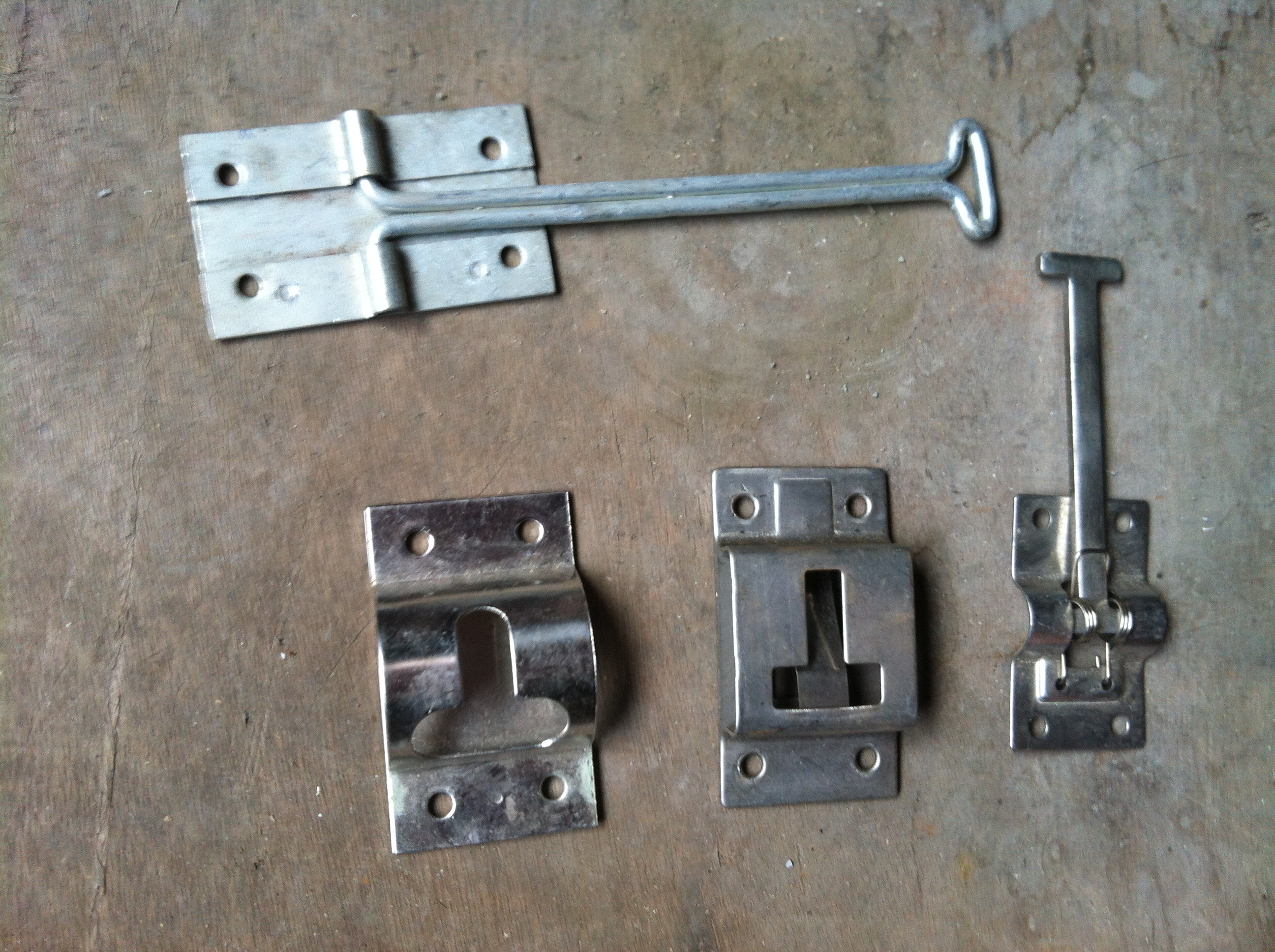 RV Cargo Door Latches