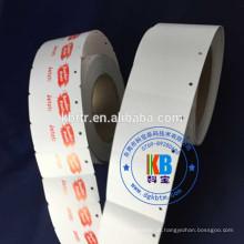 Aceitar ordem personalizada roupas adesivo corda em branco cartão de vestuário preço de papel ofício pendurar tag