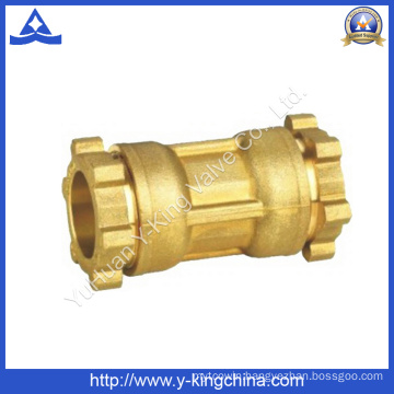 Brass Coupling Copper Fitting with Compression Ends (YD-6051)