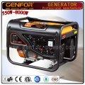 2kw-7kw Generatore elettrico portatile di benzina di inizio elettrico con Ce, ISO9001
