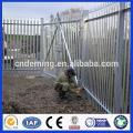 Preis für W Profil Heiß getaucht Galvanisiert Stahl Palisade Fechten / Palisade Stahl Zaun