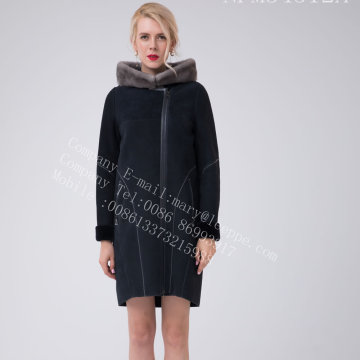 Spain Merino Shearling Jacket Pour Lady