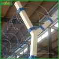 Мягкая стальная краска, сваренный матальный забор аэропорта, ограждение аэропорта