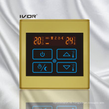 Fußbodenheizung Thermostat Berührungsschalter Kunststoffrahmen (SK-HV2300B-L)