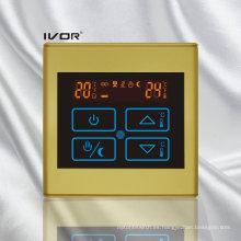 Termostato de calefacción por suelo radiante interruptor marco de plástico de plástico (SK-HV2300B-L)
