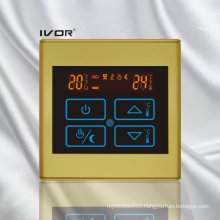 Underfloor Heating Thermostat Touch Switch Plastic Frame (SK-HV2300B-L)