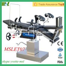MSLET07M Bester Verkaufstisch Hightech Mehrzweck-Operationstisch (Kopf kontrolliert)