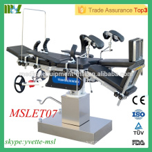 MSLET07M Best Selling Operating Table High tech Multi-purpose Operating Table (Head controlled)