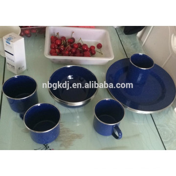 enamel metal mug/enamel camping mug/enamel cup/enamel plate