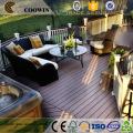 wide floor boards decking composite embossed composite decking